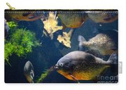 Red Bellied Piranha Fishes Carry-all Pouch