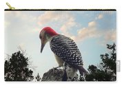 Red-bellied Woodpecker - Tree Top Carry-all Pouch