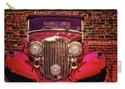 Red Bentley Convertible Carry-all Pouch