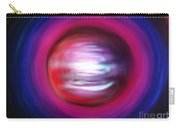 Red-black-white Planet. Twisted Time Carry-all Pouch