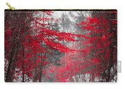 Red Blossoms  Carry-all Pouch