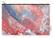 Red Blue White Abstract Carry-all Pouch