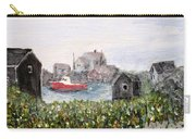 Red Boat In Peggys Cove Nova Scotia  Carry-all Pouch