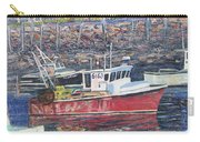 Red Boat Reflections Carry-all Pouch