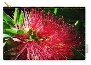 Red Bottle Brush Carry-all Pouch