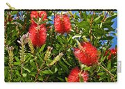 Red Bottlebrush At Pilgrim Place In Claremont-california Carry-all Pouch