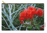 Red Bougainvillea Thorns Carry-all Pouch