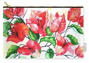 Red Bouganvillia Carry-all Pouch