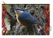 Red Breasted Nuthatch 2 Carry-all Pouch