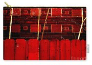 Red Brick And Sticks Carry-all Pouch