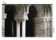 Red Brick Arches Black White Carry-all Pouch