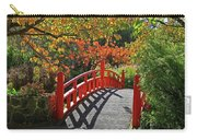 Red Bridge With Shadows Carry-all Pouch