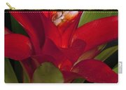 Red Bromiliad Carry-all Pouch