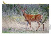 Red Bucks 1 Carry-all Pouch by Antonio Romero