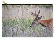 Red Bucks 4 Carry-all Pouch by Antonio Romero