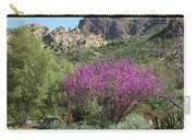 Red Bud Tree On Path Carry-all Pouch