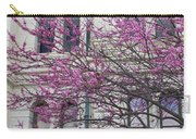 Red Buds And San Antonio City Hall Carry-all Pouch