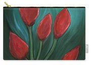 Red Buds Carry-all Pouch