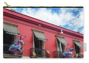 Red Building And Alebrije Carry-all Pouch