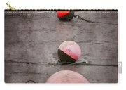 Red Buoys  Carry-all Pouch by Svetlana Sewell