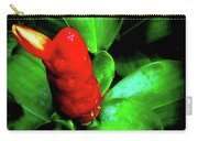 Red Button Ginger Carry-all Pouch