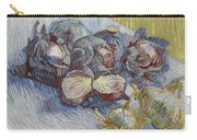 Red Cabbages And Onions Paris, October - November 1887 Vincent Van Gogh 1853  1890 Carry-all Pouch