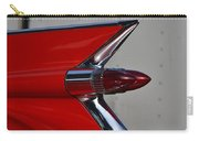 Red Cadillac Fin Carry-all Pouch