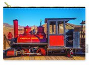 Red Calico Odessa Rr Carry-all Pouch