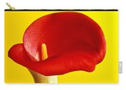 Red Calla Lilly  Carry-all Pouch