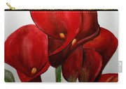 Red Callas Carry-all Pouch
