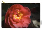 Red Camellia Bloom Carry-all Pouch