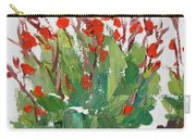 Red Canna  Carry-all Pouch