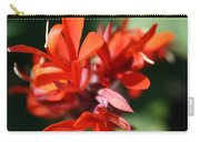 Red Canna Flower Carry-all Pouch