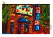 Red Car Blue Sky Carry-all Pouch