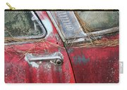 Red Car Door Handle Carry-all Pouch