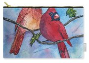Red Cardinals Carry-all Pouch
