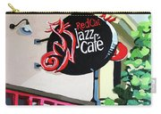 Red Cat Jazz Cafe Carry-all Pouch