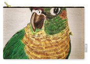 Green Cheeked Conure Carry-all Pouch