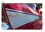 Red Chevy Carry-all Pouch
