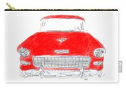 Red Chevy T-shirt Carry-all Pouch