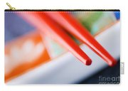 Red Chopsticks Carry-all Pouch