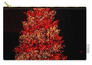 Red Christmas Tree Carry-all Pouch