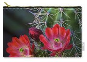 Red Claret Cup Cactus  Carry-all Pouch