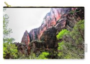 Red Cliffs Zion National Park Utah Usa Carry-all Pouch