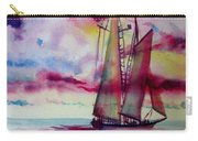 Red Cloud Sail Carry-all Pouch