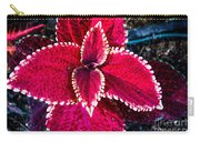 Red Coleus Carry-all Pouch