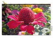 Red Cone Flower Carry-all Pouch