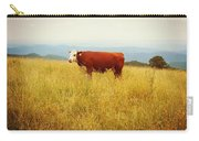 Red Cow On The Blue Ridge Carry-all Pouch