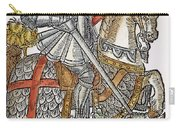 Red Cross Knight, 1598 Carry-all Pouch