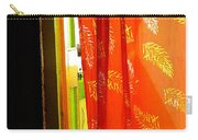 Red Curtain In The Doorway Carry-all Pouch